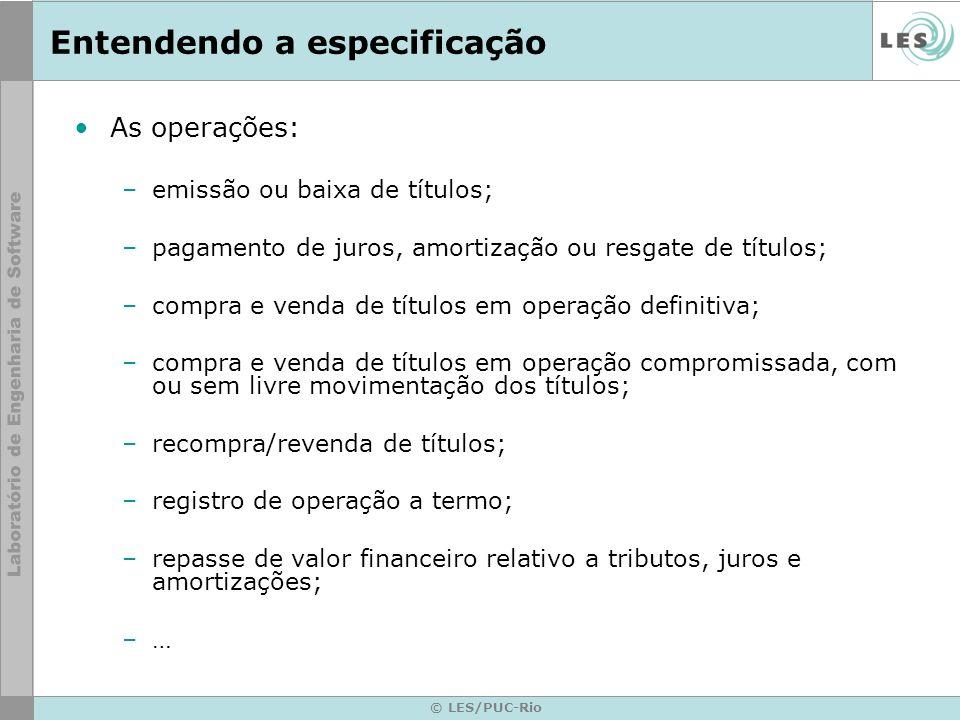 © LES/PUC-Rio Modelos genéricos de Interação Requisição de Serviço IF 1.