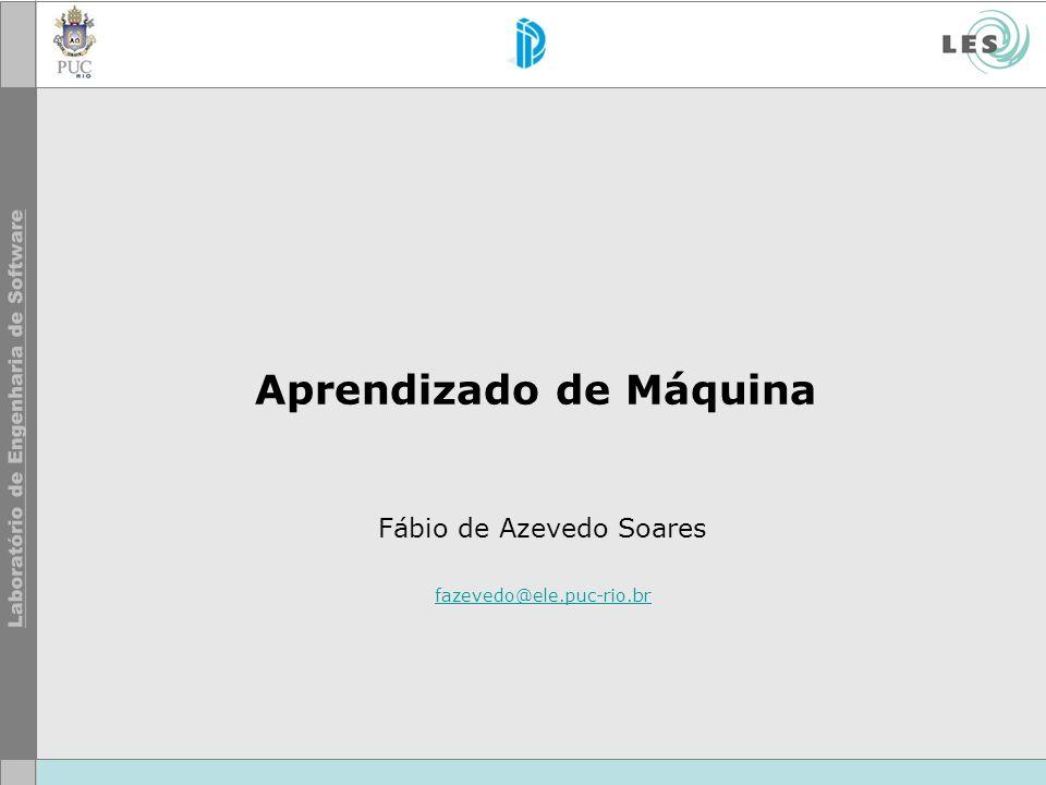 © LES/PUC-Rio Agenda Introdução Aprendizado Supervisionado Aprendizado Não-Supervisionado Aprendizado por Reforço Aplicações Referências