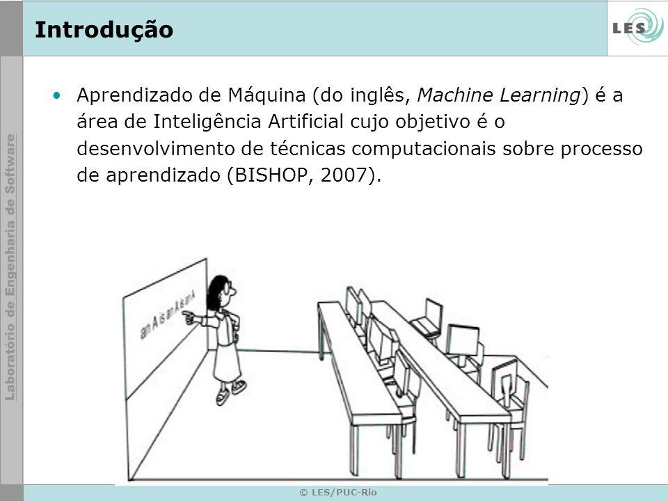 Introdução Aprender pode ser caracterizado como a capacidade de obter melhor desempenho pela experiência.