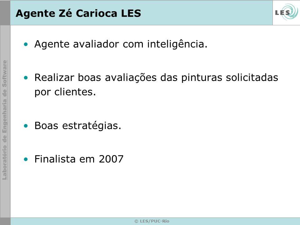© LES/PUC-Rio Agente Zé Carioca LES Agente avaliador com inteligência.