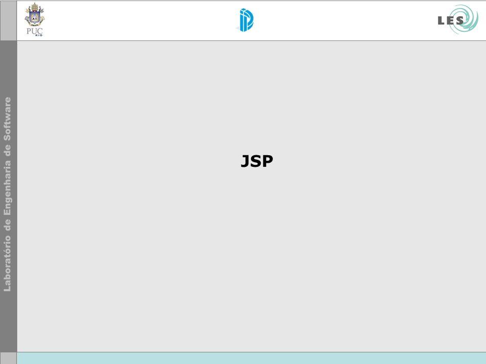 44 © LES/PUC-Rio Arquitetura HTML de resposta montado a partir de sucessivos comandos out.println(...).