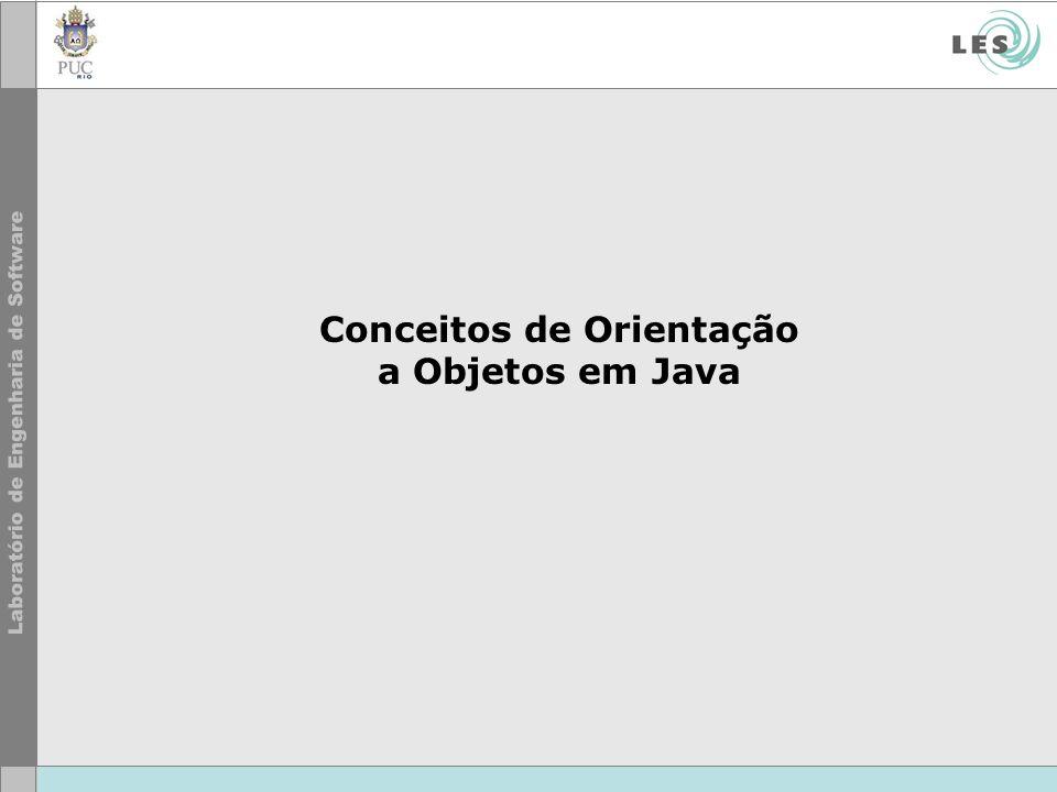 Conceitos de Orientação a Objetos em Java
