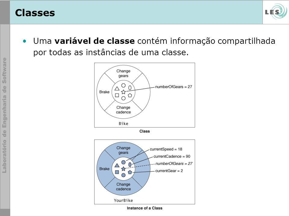 38 © LES/PUC-Rio Aplicação ClickMeApp: Classe Spot public class Spot { //instance variables private int size; public int x, y; //constructor public Spot() { x = -1; y = -1; size = 1; } //methods for access to the size instance variable public void setSize(int newSize) { if (newSize >= 0) { size = newSize; } } public int getSize() { return size; }