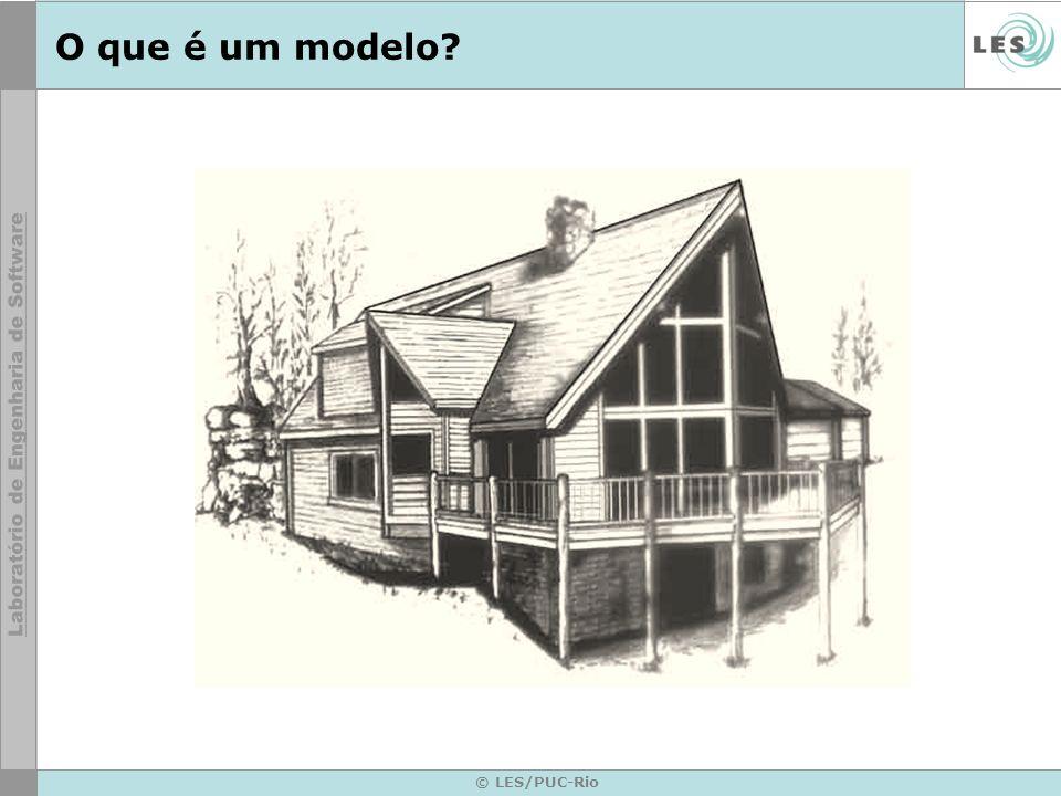 © LES/PUC-Rio Vantagens da Utilização da UML Padrão aberto e não proprietário.