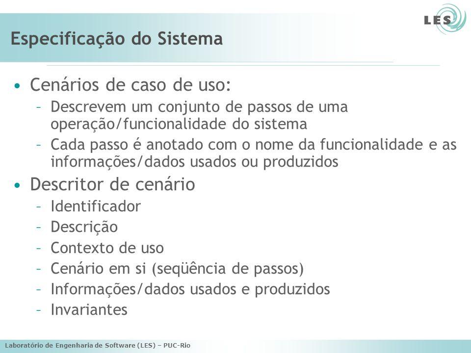 Laboratório de Engenharia de Software (LES) – PUC-Rio Scenario: Book Order Overview: The user orders a book.