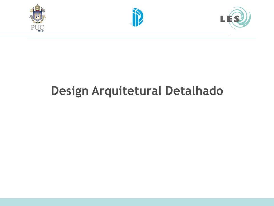Design Arquitetural Detalhado