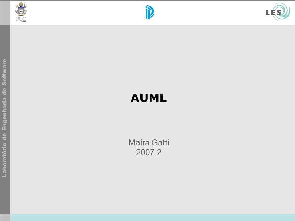 © LES/PUC-Rio AUML2 Tool Rough prototype tool.