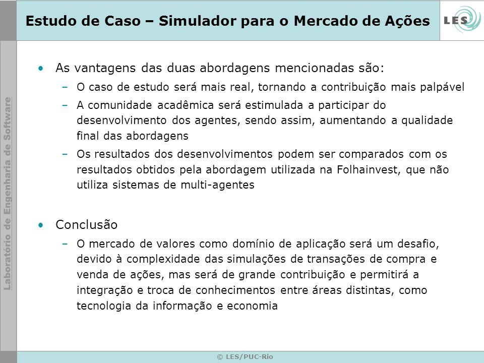© LES/PUC-Rio Nova Versão do Agente Competidor Zé Carioca LES 2.