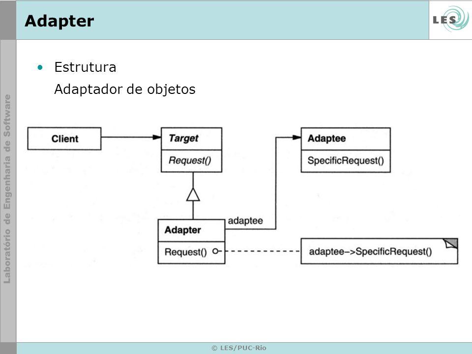 © LES/PUC-Rio Adapter Estrutura Adaptador de objetos