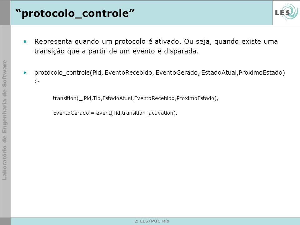 © LES/PUC-Rio protocolo_controle Representa quando um protocolo é ativado.