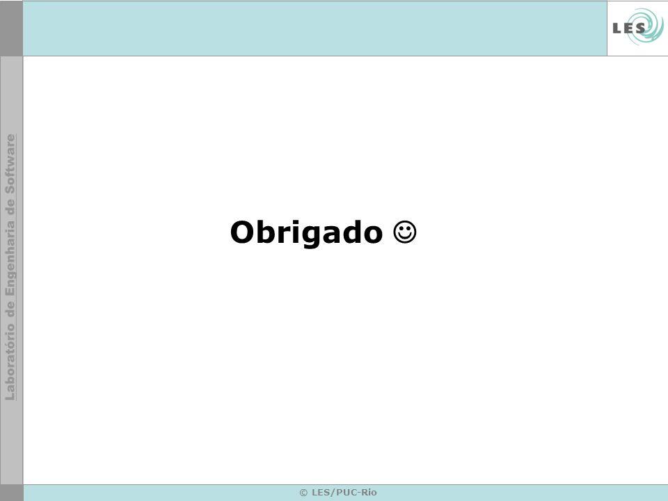 © LES/PUC-Rio Obrigado