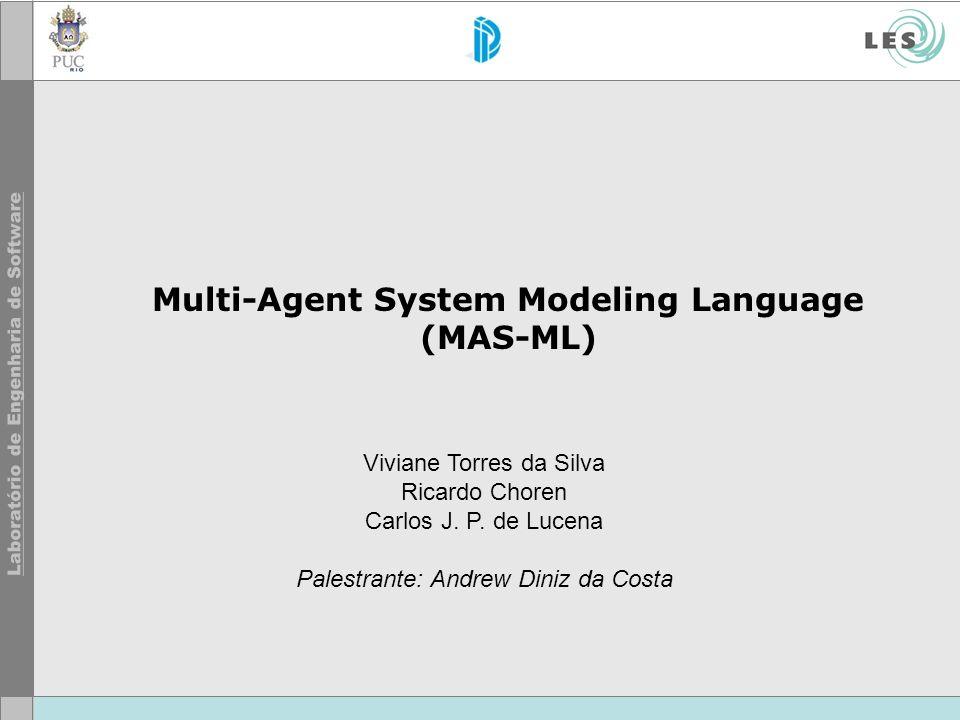 Multi-Agent System Modeling Language (MAS-ML) Viviane Torres da Silva Ricardo Choren Carlos J.