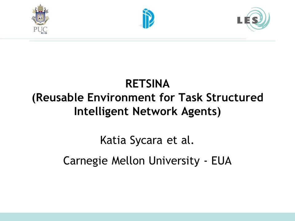 Laboratório de Engenharia de Software (LES) – PUC-Rio 3 O que é RETSINA.