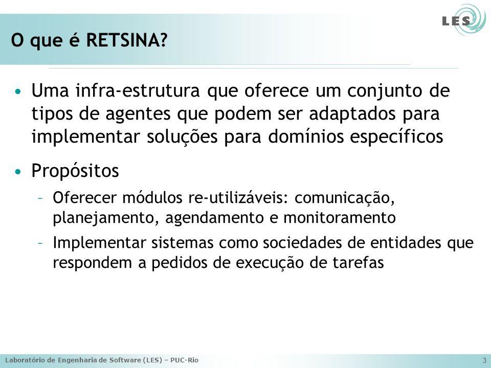 Laboratório de Engenharia de Software (LES) – PUC-Rio 74 Exemplo de Instanciação
