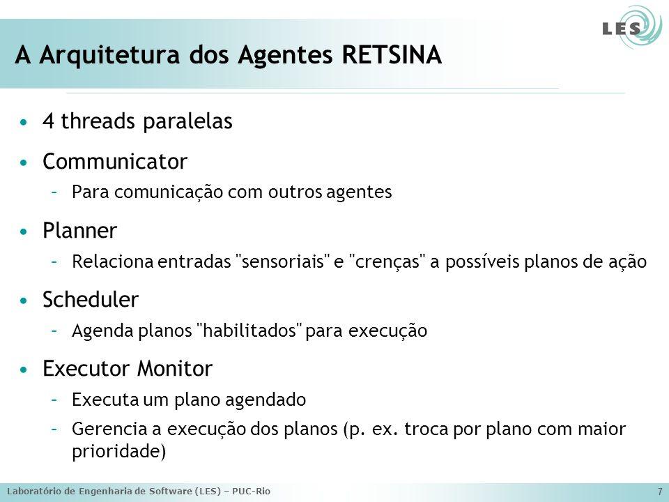 Laboratório de Engenharia de Software (LES) – PUC-Rio 8 A Infra-estrutura RETSINA