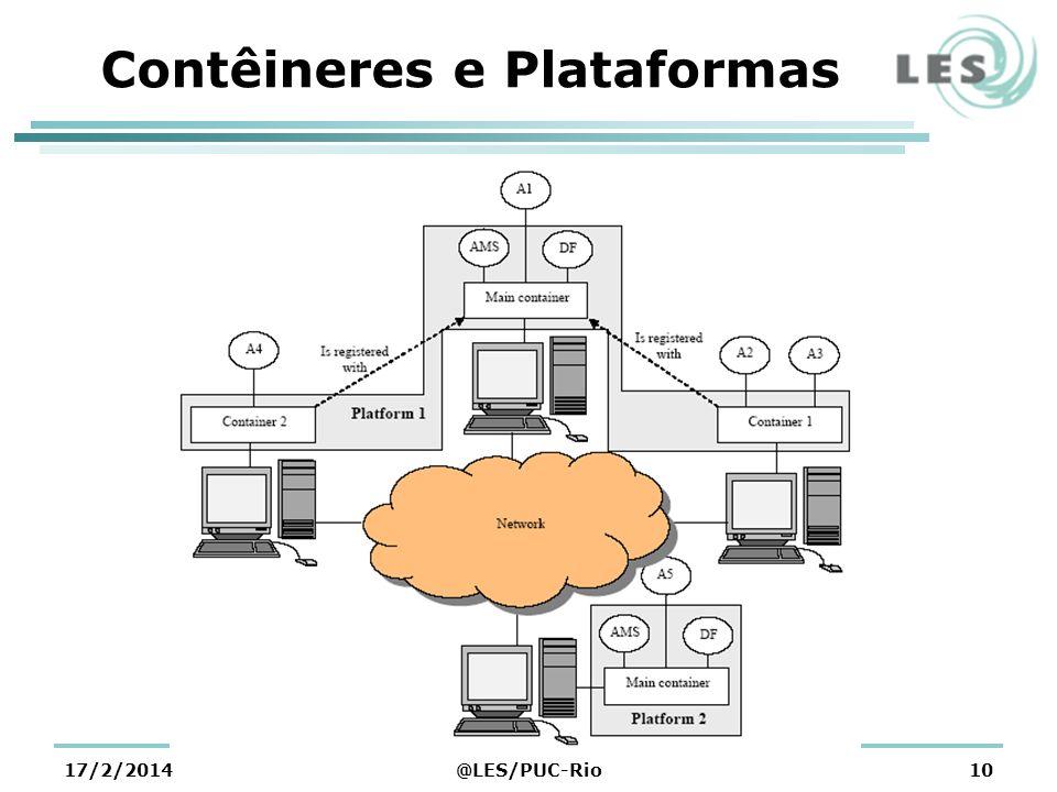 Contêineres e Plataformas 17/2/2014@LES/PUC-Rio10