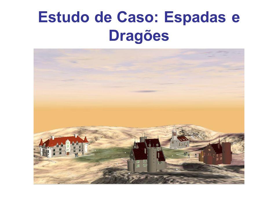 Estudo de Caso: Espadas e Dragões