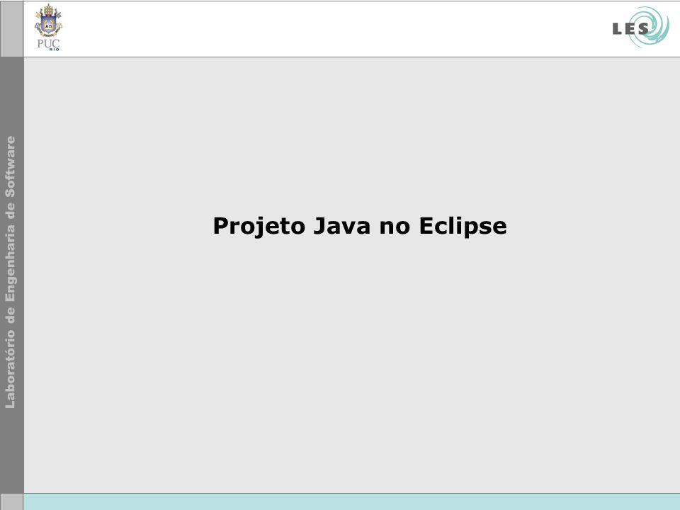 Projeto Java no Eclipse