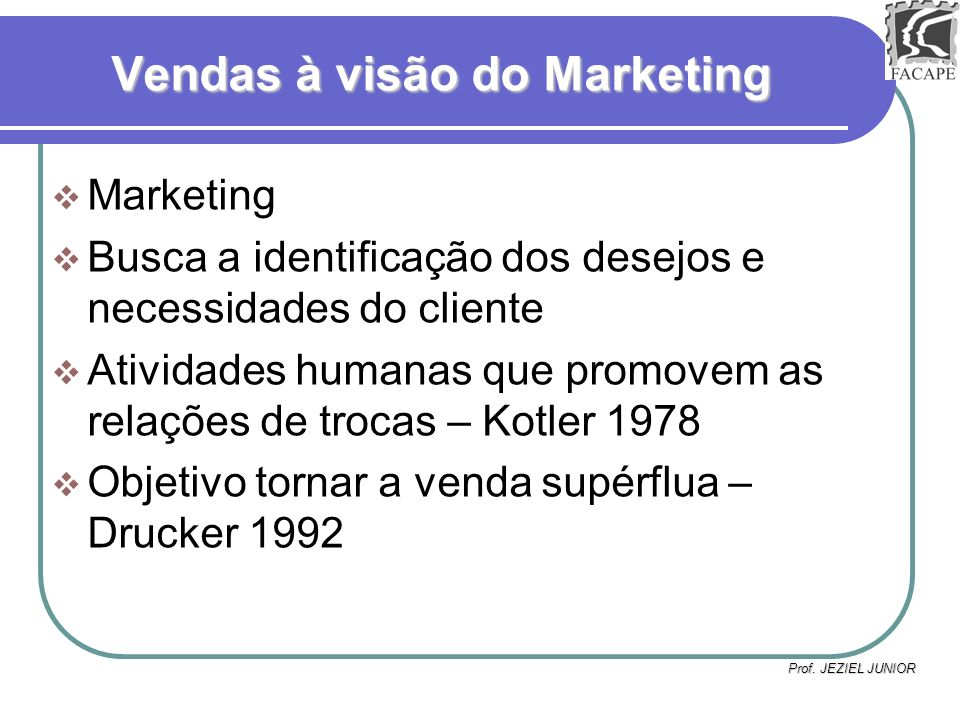 Prof.JEZIEL JUNIOR Marketing...