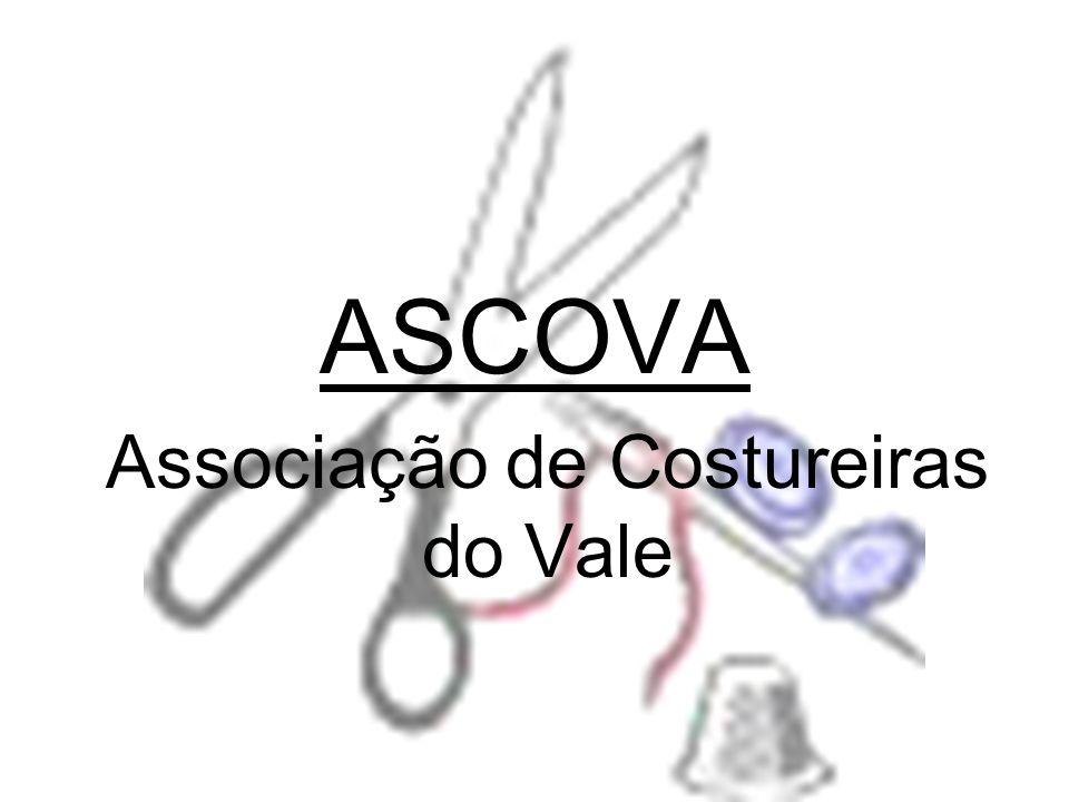 Números A ASCOVA vai iniciar sua operação com a contribuição de R$ 750.000,00 vindos das costureiras através da proporção de R$ 25.000,00 para cada e mais R$ 360.000,00 de capital de terceiros que no caso seria o BNDES para ser pago em 36 meses.