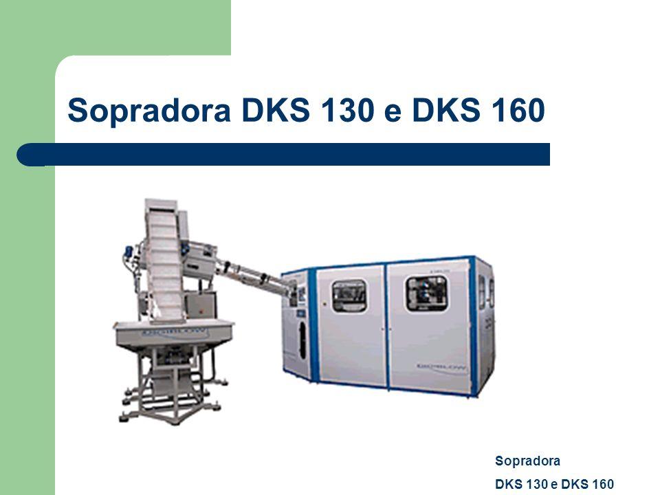 Sopradora DKS 130 e DKS 160 Sopradora DKS 130 e DKS 160