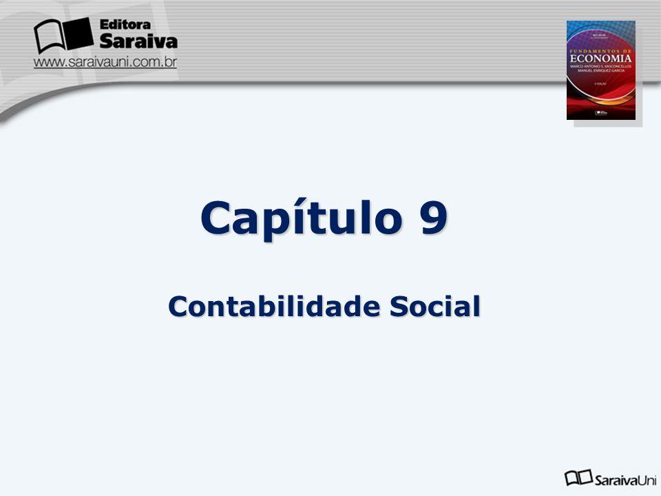 Capítulo 9 Contabilidade Social