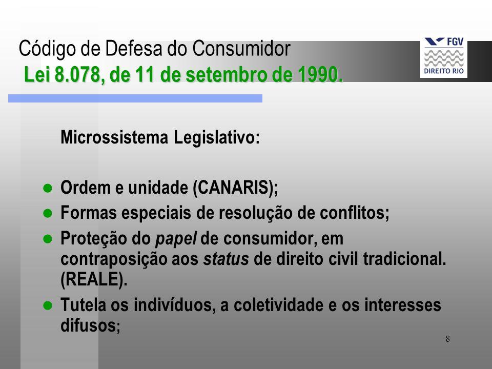 8 Lei 8.078, de 11 de setembro de 1990.