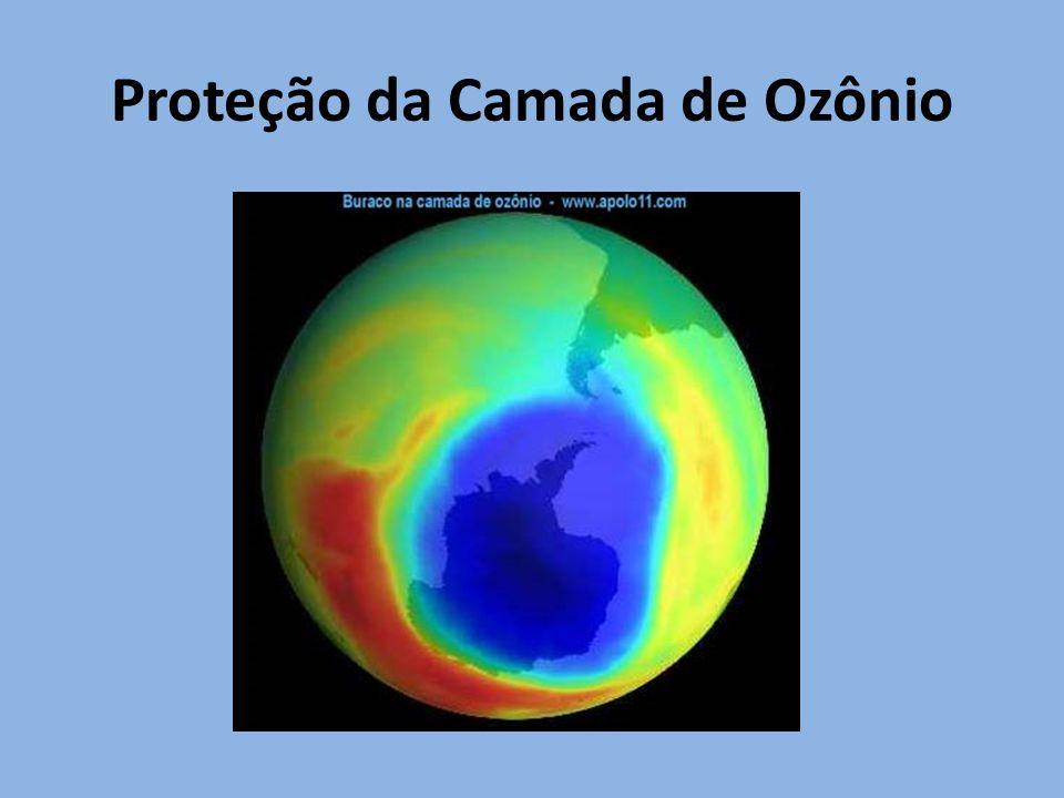 Proteção da Camada de Ozônio
