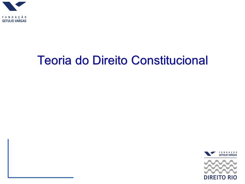 Teoria do Direito Constitucional