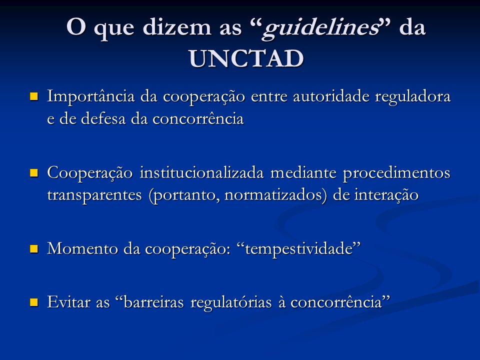 Importância da cooperação entre autoridade reguladora e de defesa da concorrência Importância da cooperação entre autoridade reguladora e de defesa da