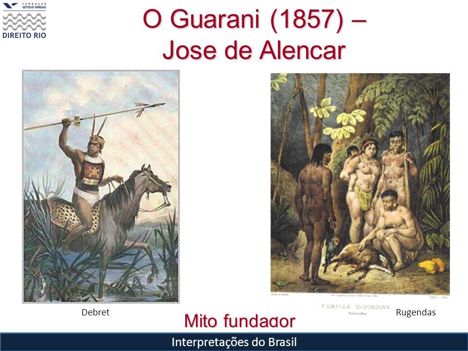 Interpretações do Brasil Mito fundador O Guarani (1857) – Jose de Alencar DebretRugendas