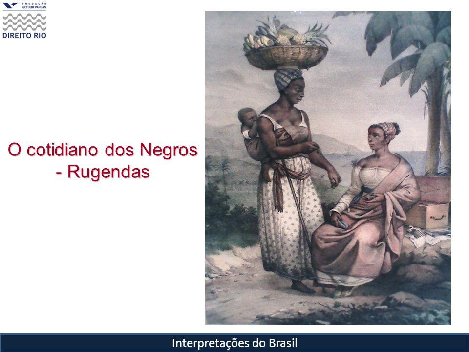 Interpretações do Brasil O cotidiano dos Negros - Rugendas
