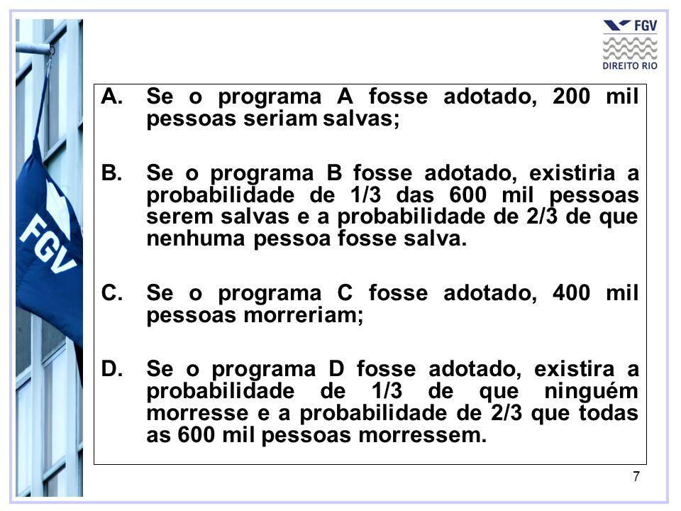 18 Suponha que o ponto 1 represente a distribuição atual da riqueza social e que os pontos 2 e 5 representem mudanças possíveis.
