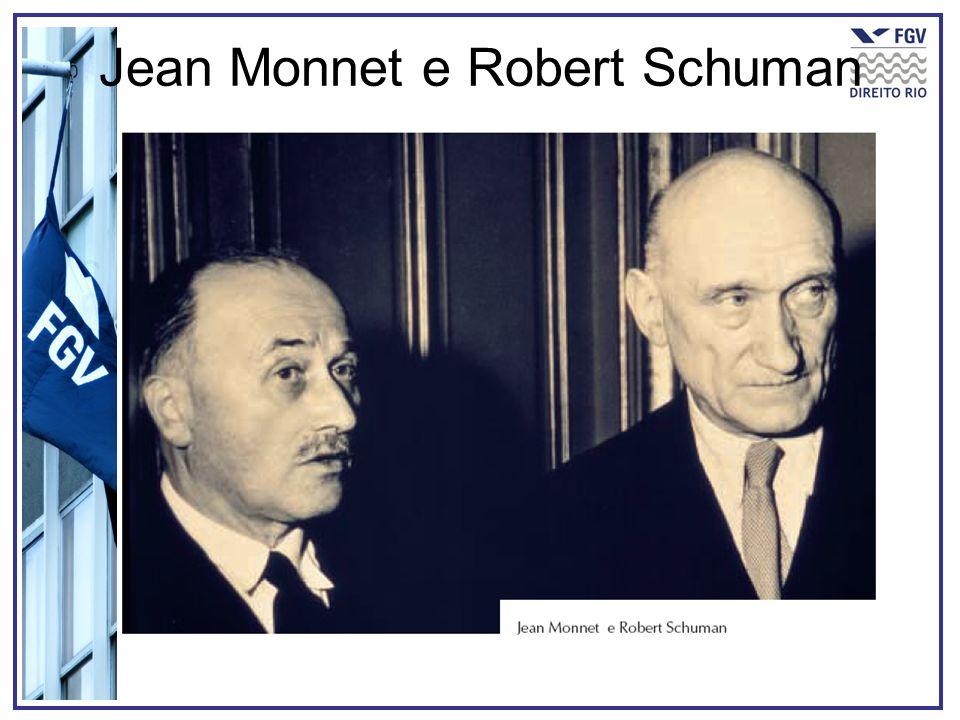 Jean Monnet e Robert Schuman