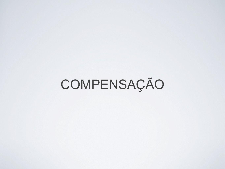 COMPENSAÇÃO