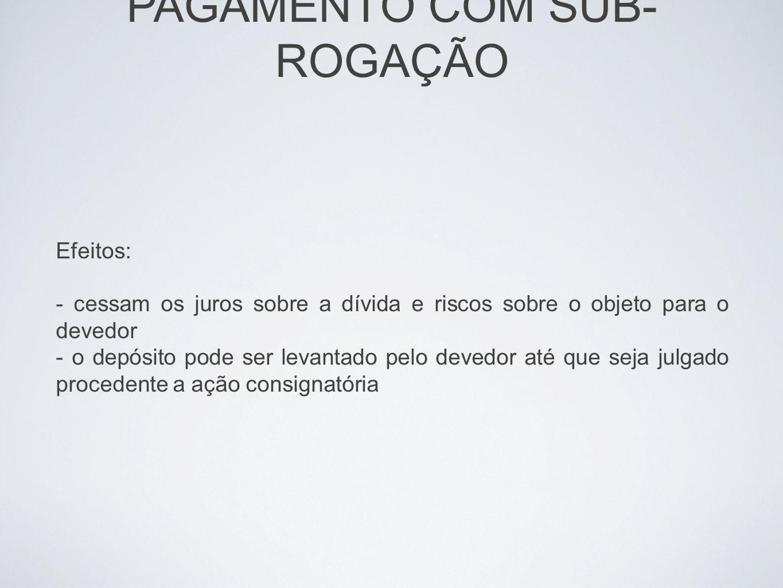 IMPUTAÇÃO DE PAGAMENTO