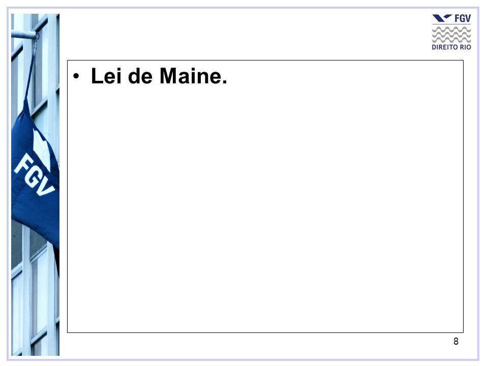 8 Lei de Maine.