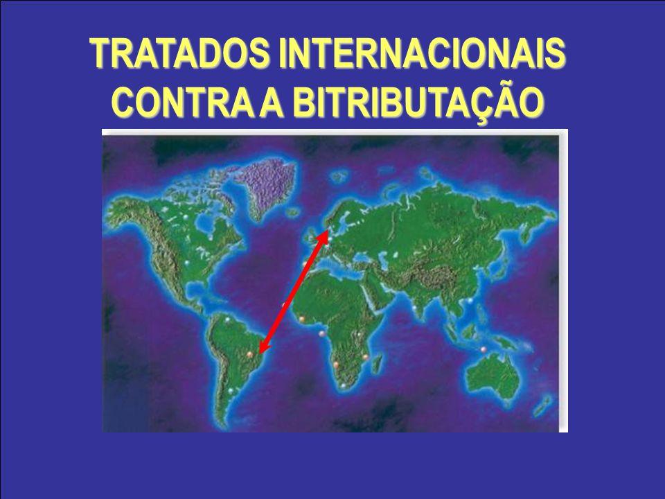 TRATADOS INTERNACIONAIS CONTRA A BITRIBUTAÇÃO