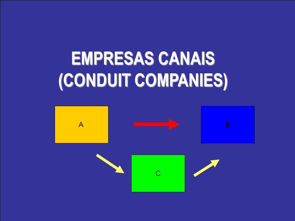 EMPRESAS CANAIS (CONDUIT COMPANIES) AB C