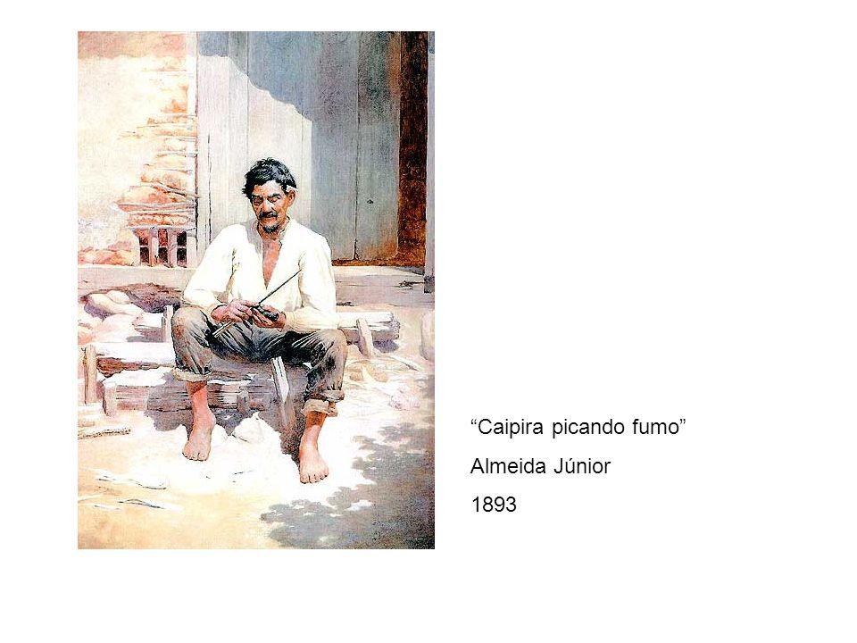 Caipira picando fumo Almeida Júnior 1893
