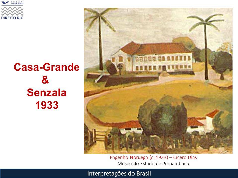Interpretações do Brasil Engenho Noruega (c. 1933) – Cícero Dias Museu do Estado de Pernambuco Casa-Grande & Senzala 1933