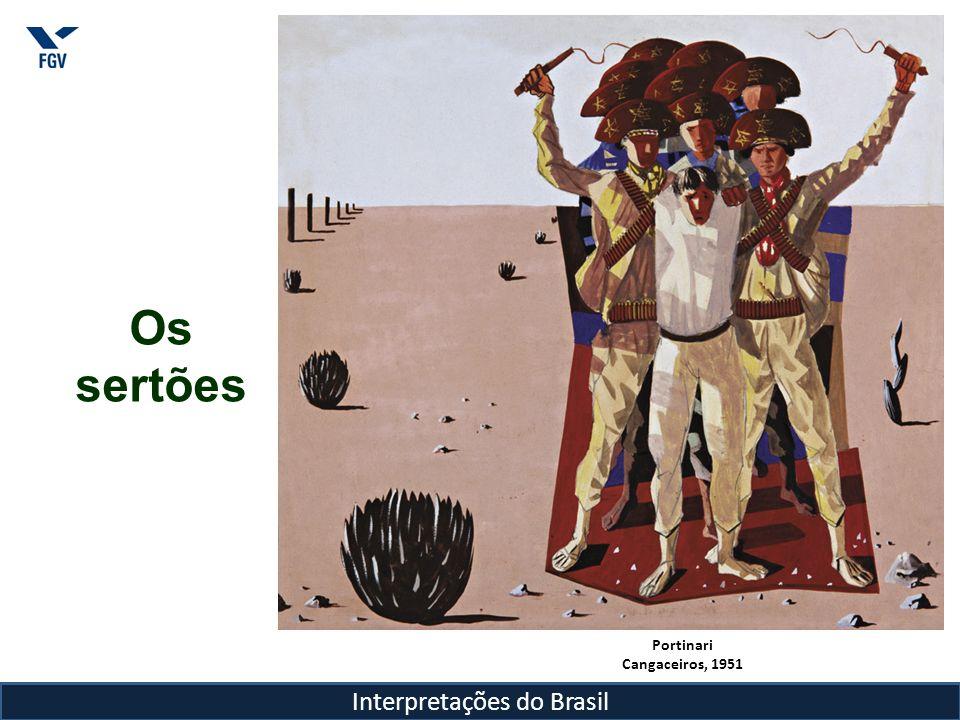 Interpretações do Brasil Pode-se dizer que a preocupação com o desenvolvimento do interior do país e a conquista do oeste, tiveram conseqüências materiais no país, como a construção e a transferência de sua capital.