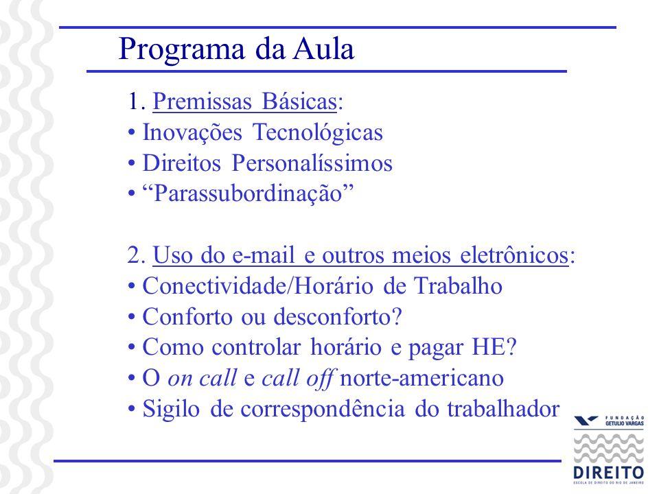 Programa da Aula 1.