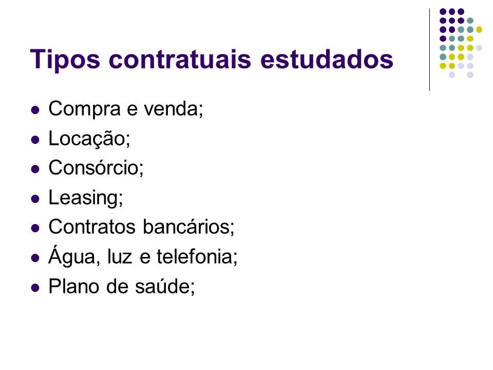 É contrato de consumo.5.1. Sujeito Ativo Consumidor em sentido próprio (art.