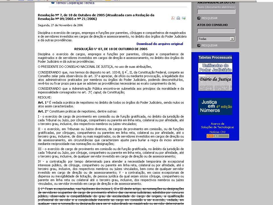 STJ –1ª turma - REsp 831.178/MG 2.A exegese das regras insertas no art.