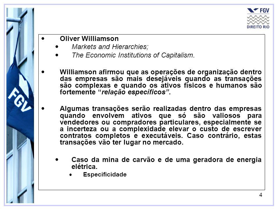 5 Elinor Ostrom –Governing the Commons: The Evolution of Institutions for Collective Action (1990) Common-pool são recursos que mais de um indivíduo tem acesso, mas onde o consumo de cada pessoa reduz a disponibilidade do recurso para os outros.