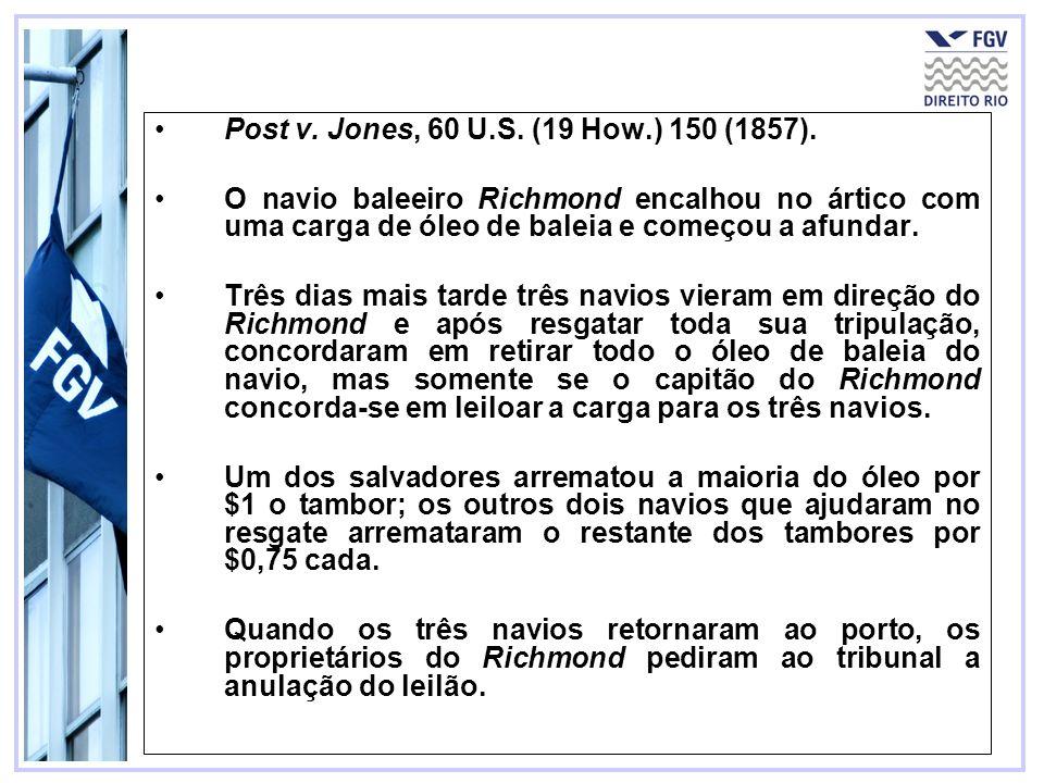 87 Post v. Jones, 60 U.S. (19 How.) 150 (1857).