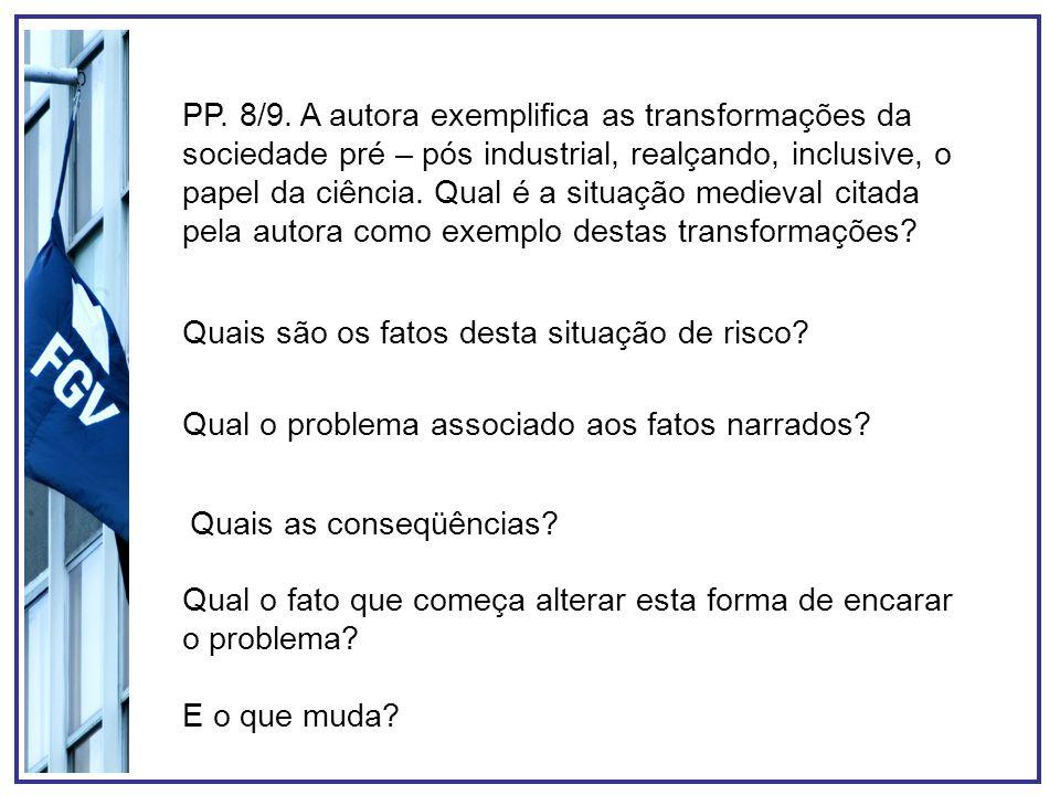 P.23. Como a informação pode ser instrumento de gestão dos riscos.