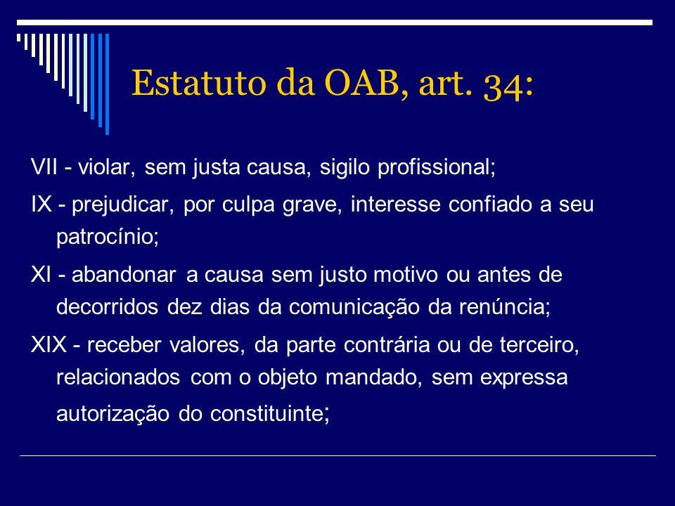 Estatuto da OAB, art.