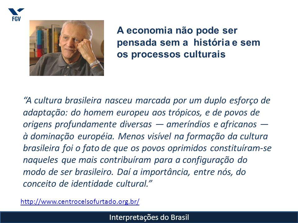 Celso Furtado Brasil e o modelo das elites (...) A deformação da economia está no modelo de civilização que se imita.